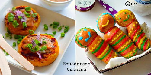 ... ( Potato Cakes with Peanut Butter Sauce) ~Ecuadorean Cuisine Recipes