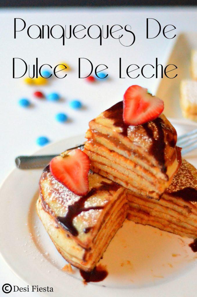 Panqueques de dulce de leche ( Crepes with dulce de leche) Recipe ...
